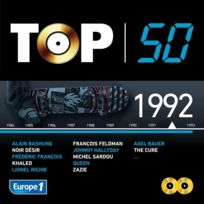 Umsm - Compilation - Top 50 : 1992 Boitier cristal