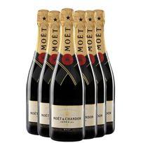 Champagne MoËT & Chandon - Brut Imperial avec etui Lot de 6 Bouteilles