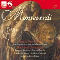- Claudio Monteverdi - Messe pour 4 voix, 9ème livre des madrigaux Boitier cristal