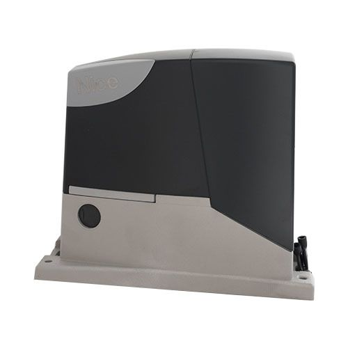 NICE - Motorisation portail coulissant Kit Road400 + crémaillère + Télécommande