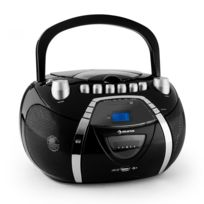 Auna - Beeboy Poste radio stéréo Cd Mp3 Usb -noir