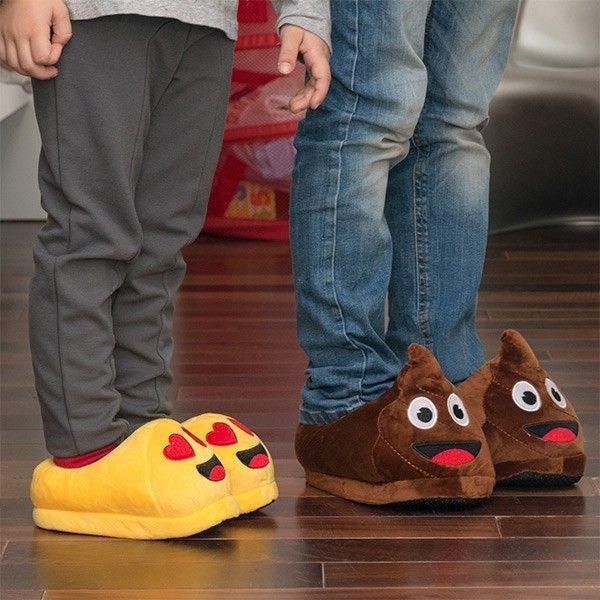 Marque Generique - Pantoufles enfants émoticônes Emoj Design - Poo, Taille  des chaussures - 35 da2a1cbdded4