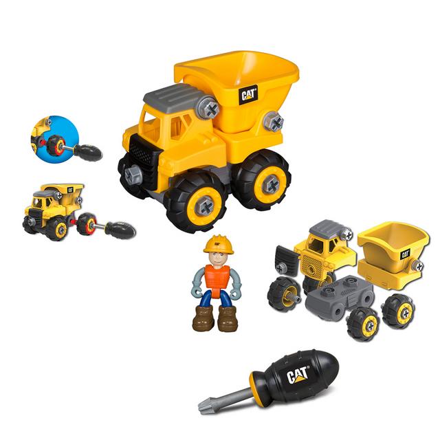 Rocambolesk Superbe Camion-benne Caterpillar Toy State 80901 neuf