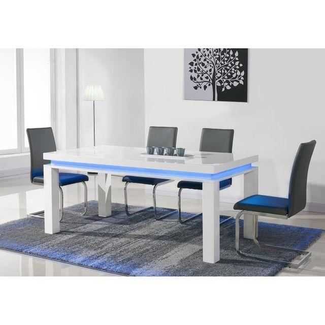 6 a avec Led Table personnes Aucune bleue manger Flash HI9EWD2