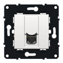 Arnould - prise rj45 - ftp - catégorie 6 - espace evolution - blanc