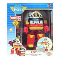 ROBOCAR POLI - Véhicule Transformable Lumineux Roy
