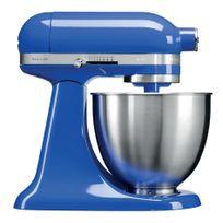 KITCHENAID - mini robot pâtissier multifonction 3.3l 250w bleu saphir - 5ksm3311xetb