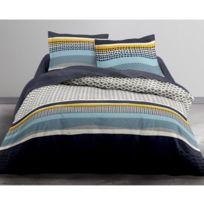 Lefebvre Textile - Parure de lit 220 x 240 cm - Jaspa