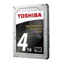 TOSHIBA - Disque dur 3.5 N300 4 To 7200rpm 128 Mo Boîte