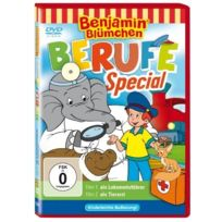 Schmidt Spiele GmbH - Benjamin BlÜMCHEN Berufespecial Tierarzt/LOKOMOTIVFÜHRER IMPORT Allemand, IMPORT Dvd - Edition simple