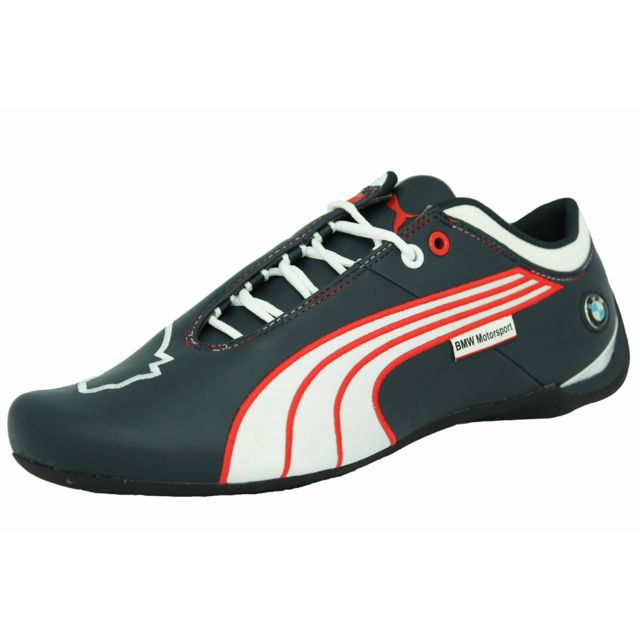 Puma Bmw Ms Future Cat M1 Leather Chaussures Mode Sneakers