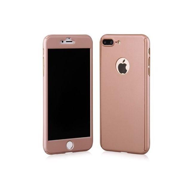coque 360 iphone 7 plus rose
