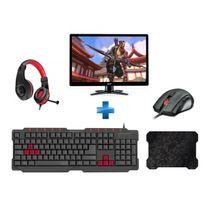 ACER - Moniteur G276HLJBIDX + Pack Gaming SpeedLink
