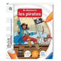 """Tiptoi - livre """"Je découvre les Pirates"""