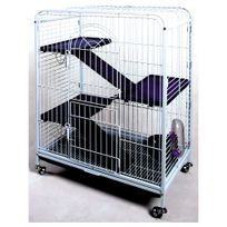 Agrobiothers - Cage Tower Bleu/Blanc - 64x44x93cm