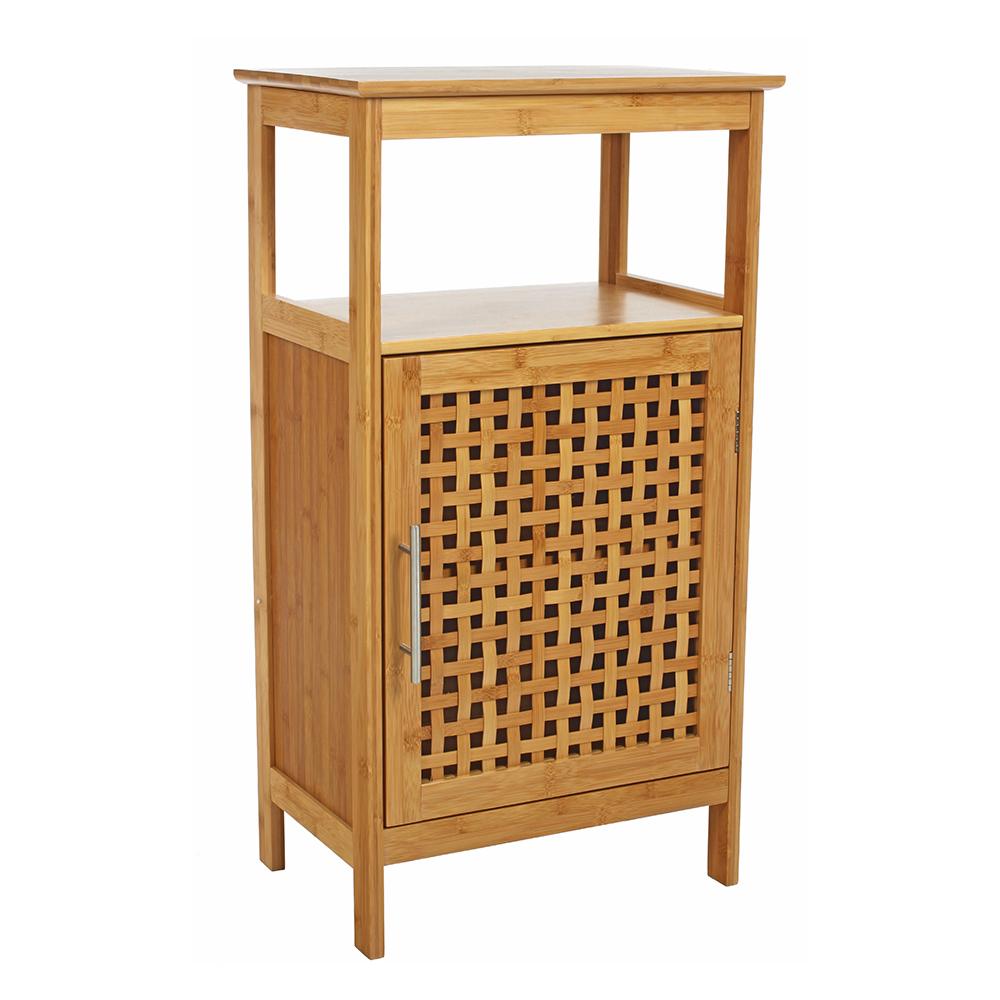 Meuble de salle de bain bambou
