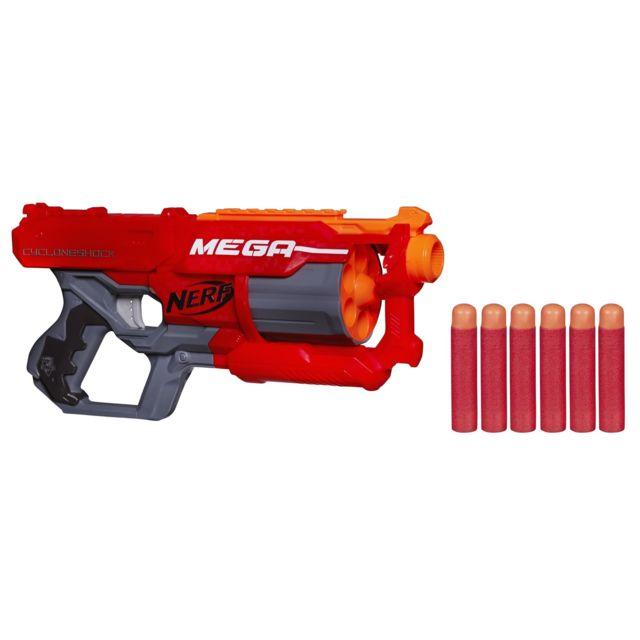 nerf pistolet elite m ga cyclone a9353eu40 pas cher achat vente jeux d 39 adresse. Black Bedroom Furniture Sets. Home Design Ideas