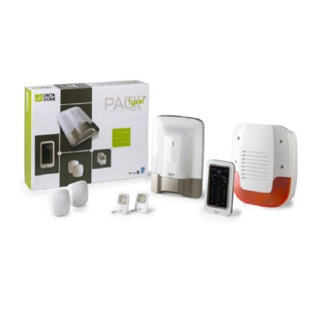 delta dore pack alarme domotique radio ip pr configur tyxal tydom 1 0 6410177 pas cher. Black Bedroom Furniture Sets. Home Design Ideas