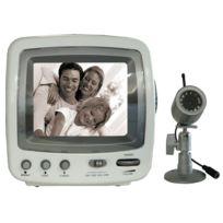 Chacon - Kit caméra waterproof + Moniteur noir et blanc