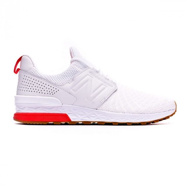 new balance blanc et rouge