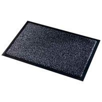 Paperflow - tapis d'accueil qualité polyamide aspect velours 90x150 gris