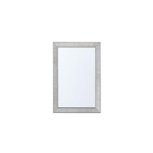 BELIANI Miroir argenté 61 x 91 cm BUBRY - argent