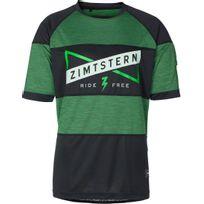 Zimtstern - Edmunz - Maillot manches courtes - vert/noir