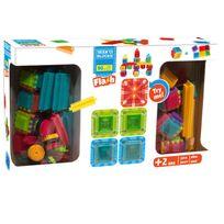 Seek'O Blocks - Jeu de construction : 90 pièces dont 5 pèces flash lumineuses
