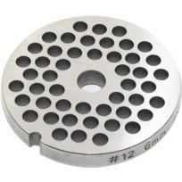 REBER - grille inox 6mm pour hachoir n°12 - 4312 a/6
