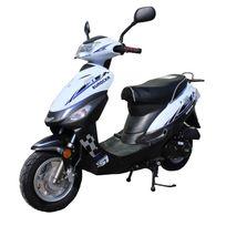 Eurocka - Scooter Cka City 50cc 4T noir/blanc