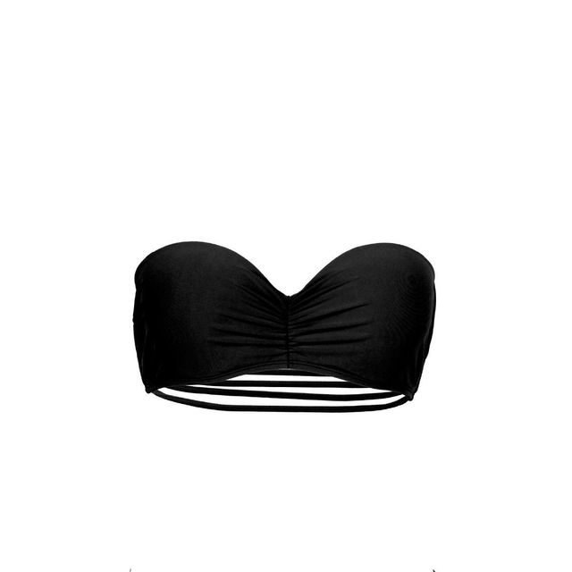 Mon Petit Bikini - Mon Teenie Bikini Noir bandeau multi-liens Haut ... 71ed7fd6fb5