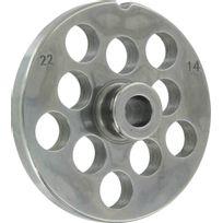 Reber - Grille acier Accessoire hachoir à viande n°22 Grille 83mm Trou 14mm