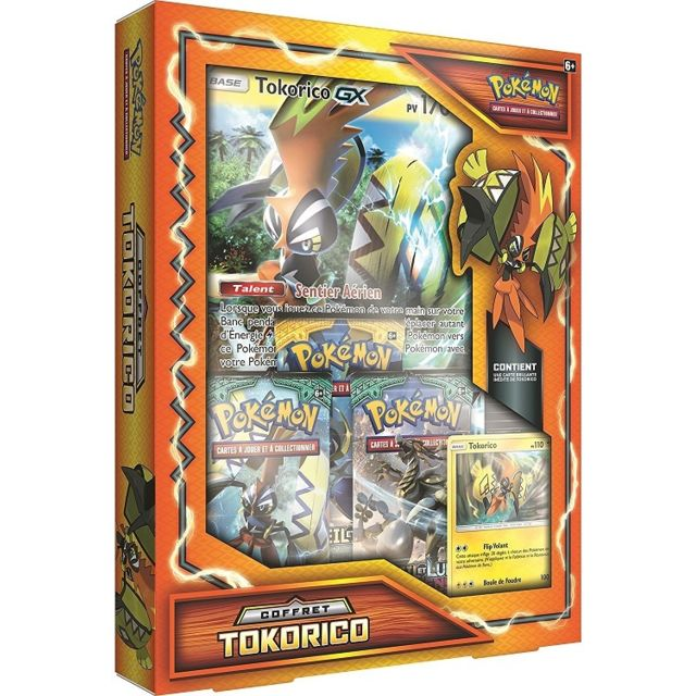 Pokemon Coffret Tokorico Gx Asmodee Version Francaise Carte Pokemon Pas Cher Achat Vente Carte A Collectionner Rueducommerce
