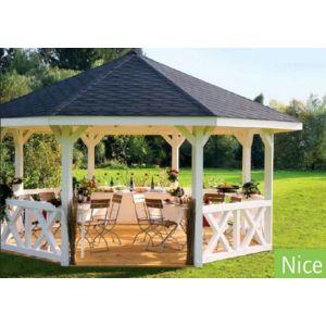 lekingstore pavillon de jardin en bois nice epaisseur poteaux 12 cm pas cher achat vente. Black Bedroom Furniture Sets. Home Design Ideas