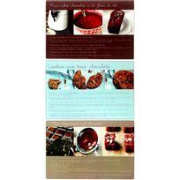 Promobo - Lot Set Ensemble 3 Planches A Découper En Verre Design Gourmand Recette Patisserie 20x30cm