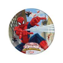 Marque Generique - Assiettes Spiderman x8