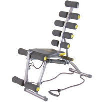 Rock Gym - Banc sit-up multifonctionnel Rog001