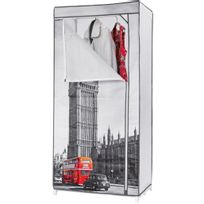 """Compactor - Penderie """"Londres"""" Big Ben"""