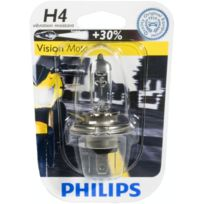 Philips - Ampoule phare Vision Moto +30% H7 12V 55W Px26D