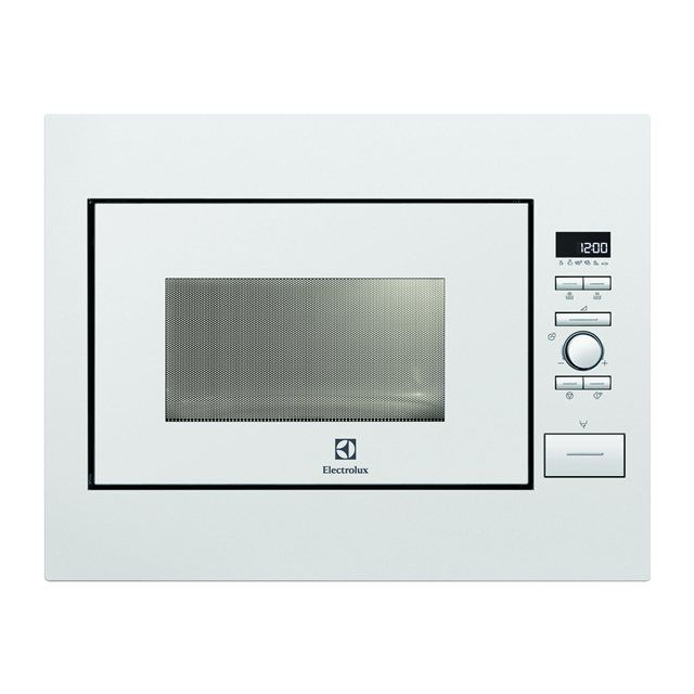 electrolux micro ondes encastrable 26l 900w blanc. Black Bedroom Furniture Sets. Home Design Ideas