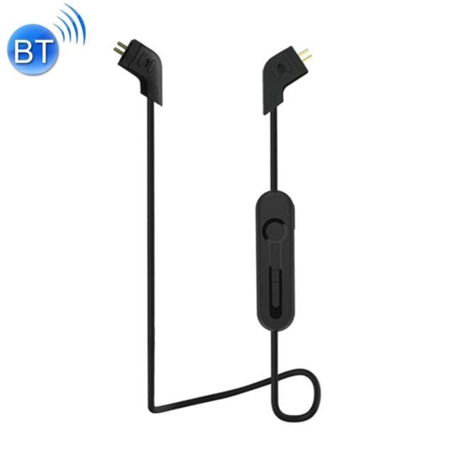 Wewoo - Câble noir Kz Ed12 85 cm Bluetooth 4.2 sans fil Advanced Upgrade  module écouteur 77d3b265ada0