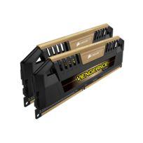 CORSAIR - Mémoire Kit de 2 Barrettes DDR3 PC3-19200 - 2 x 8 Go 16 Go, 2400 MHz - CAS 11 - Vengeance Pro avec Dissipateur de chaleur OR
