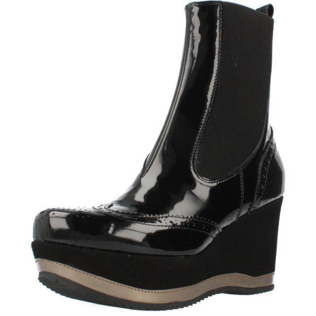 Bruglia Boots, bottines et bottes femme 6084, Noir