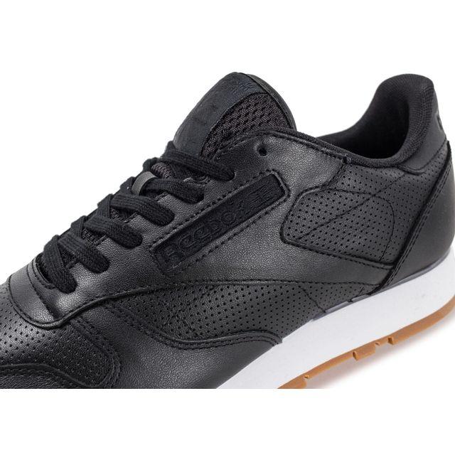 b1f68b0a94c84 Reebok - Classic Leather Pg Noire - pas cher Achat   Vente Baskets ...