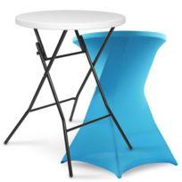 Table de jardin plastique bleu - catalogue 2019 - [RueDuCommerce ...