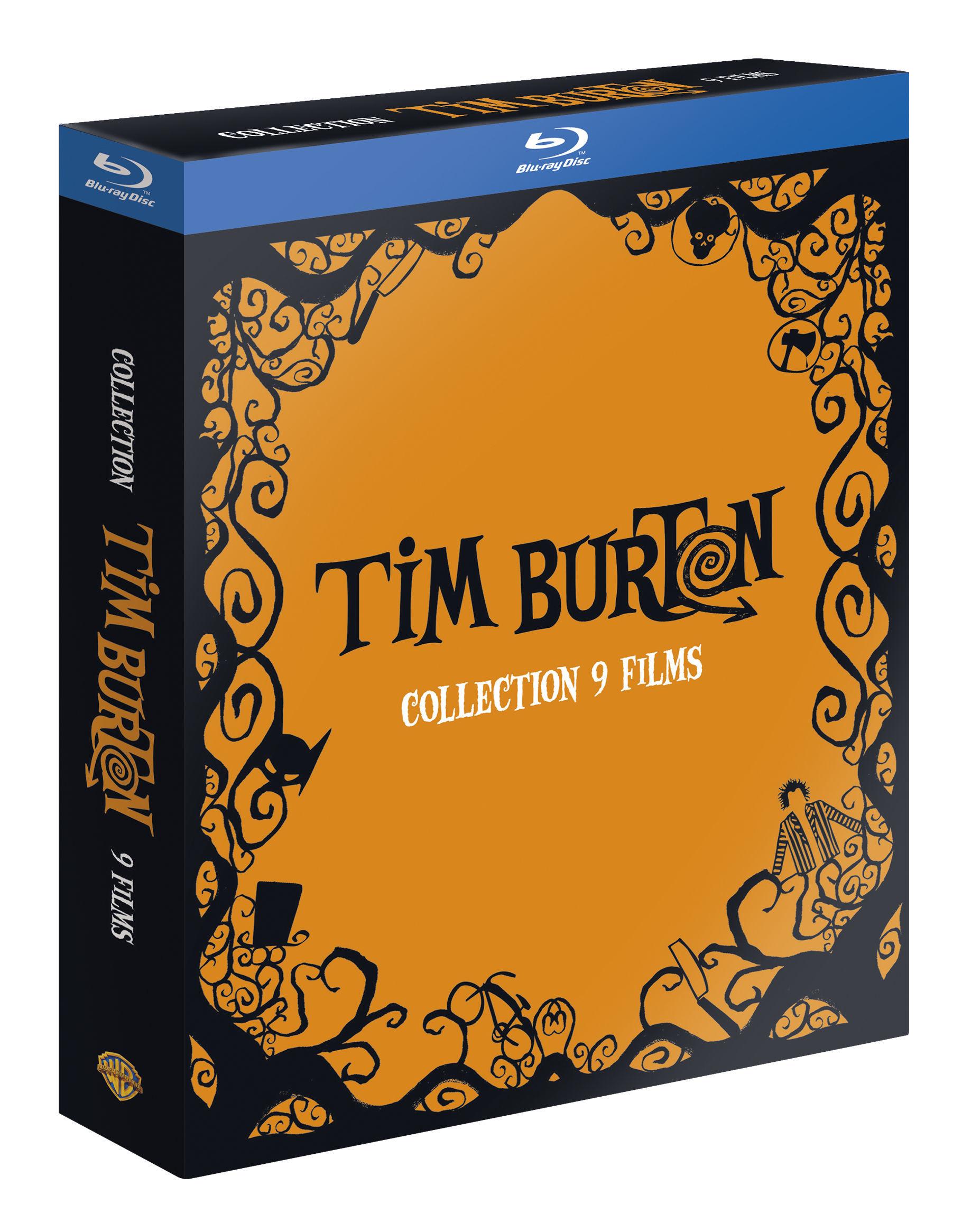 Coffret Tim Burton Blu-ray - 9 films