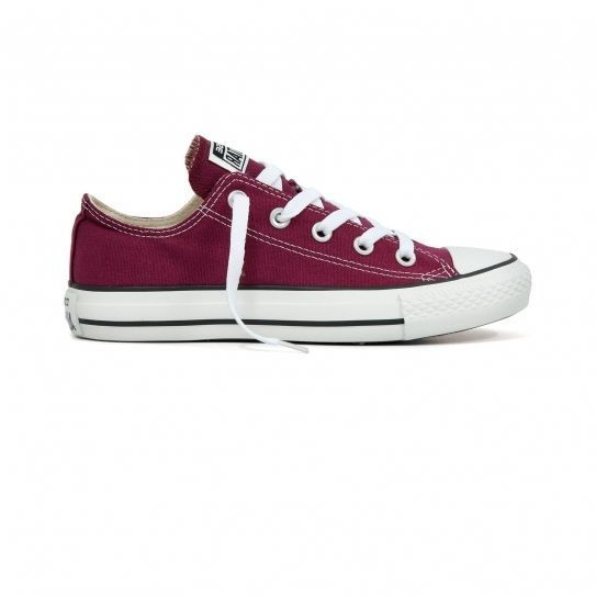 Converse - Chaussures All Star Canvas Bordeaux