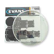 Evans - Peau de Tom 16''. G2. Double Pli. Transparente Tt16G2