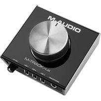 M-audio - M-track Hub - interface audio avec hub Usb