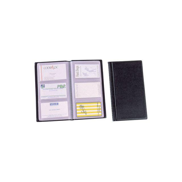 Alba - class120 - porte-cartes de visite pvc capacité 120 cartes noir - pas  cher Achat   Vente Porte-cartes - RueDuCommerce 82f2dec8447